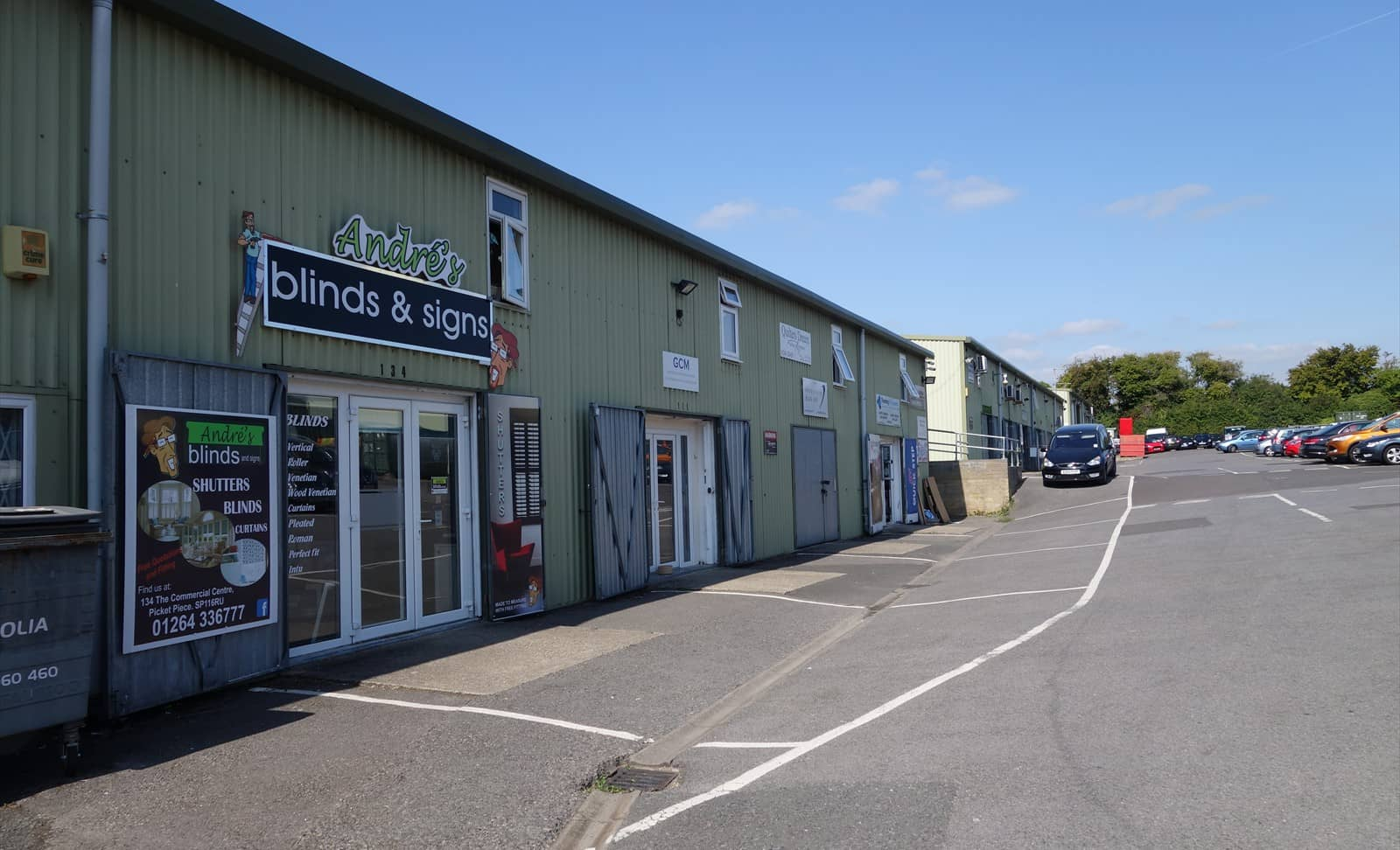 Office and commercial space to rent in Andover, Hampshire